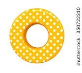 3d Polka Dots Letter O Orange...