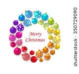 illustration set of colorful... | Shutterstock .eps vector #350729090