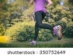 running in the park | Shutterstock . vector #350752649