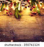 Christmas Fir Tree With...