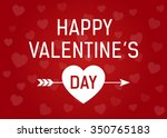 happy valentine's day greeting...   Shutterstock .eps vector #350765183