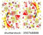 elegant   delicate  unique ... | Shutterstock . vector #350768888