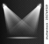 scene transparent lights... | Shutterstock .eps vector #350769509