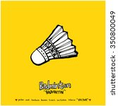 sports poster illustration  ... | Shutterstock .eps vector #350800049