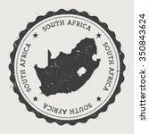 south africa. hipster round... | Shutterstock .eps vector #350843624