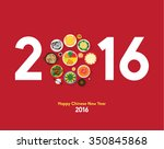 oriental happy chinese new year ... | Shutterstock .eps vector #350845868
