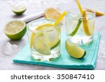 Alcoholic Drink  Gin And Tonic...