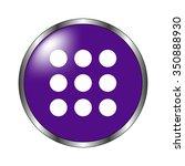 menu   vector icon  violet...