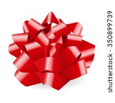 red bow | Shutterstock . vector #350899739