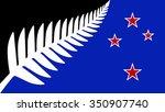 new flag of new zealand | Shutterstock .eps vector #350907740