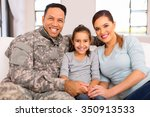 Lovely Young Military Family...