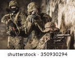 marines soldiers take part in... | Shutterstock . vector #350930294