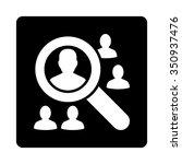 explore patients vector icon.... | Shutterstock .eps vector #350937476