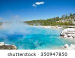 The Midway Geyser Basin  One O...