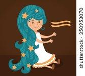 sign of the zodiac. horoscope....   Shutterstock .eps vector #350953070
