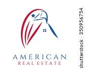 american real estate concept... | Shutterstock .eps vector #350956754