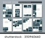 modern brochure template design ... | Shutterstock .eps vector #350960660