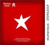 star   vector icon | Shutterstock .eps vector #350962019