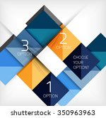paper style design templates ... | Shutterstock .eps vector #350963963