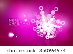 christmas purple color abstract ... | Shutterstock .eps vector #350964974