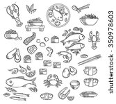 Seafood And Delicatessen  Icon...