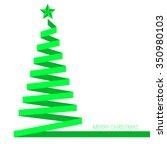 green christmas tree ribbon...
