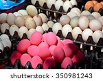 White And Pink Duck Egg In...