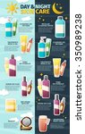 Infographics Flyer On Cosmetic...