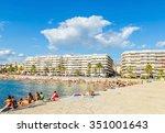 saint raphael france   august... | Shutterstock . vector #351001643