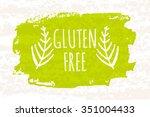 creative colorful green bio... | Shutterstock .eps vector #351004433