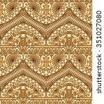 seamless texture with luxury... | Shutterstock .eps vector #351027080