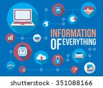 information of everything... | Shutterstock .eps vector #351088166