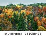 fall in bulgaria | Shutterstock . vector #351088436