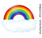 rainbow    Shutterstock . vector #351123866