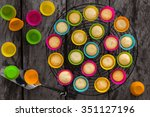 background of close up image of ... | Shutterstock . vector #351127196