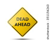 yellow diamond road sign with a ...   Shutterstock .eps vector #351156263