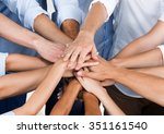 business. | Shutterstock . vector #351161540