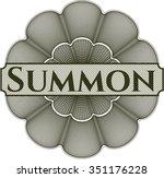 summon money style rosette | Shutterstock .eps vector #351176228