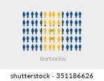 illustration of men and women...   Shutterstock .eps vector #351186626