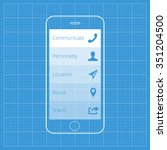 wireframe mobile app ui kit...