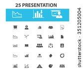 presentation  chart  diagram ... | Shutterstock .eps vector #351205004
