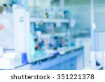laboratory interior out of focus | Shutterstock . vector #351221378
