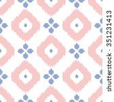 geometric seamless pattern in...   Shutterstock .eps vector #351231413