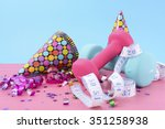 new year exercise resolution...   Shutterstock . vector #351258938