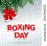 boxing day. vector illustration   Shutterstock .eps vector #351294023