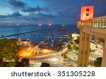 Sunset View Of Salvador City I...