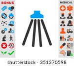 shower vector icon. style is... | Shutterstock .eps vector #351370598