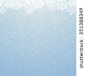 winter background | Shutterstock .eps vector #351388349