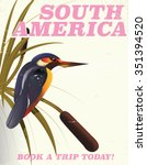 South America Vintage Travel...