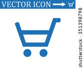 put in shopping cart icon | Shutterstock .eps vector #351398798